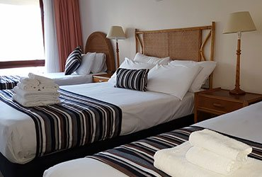 Quad Double Bed Room